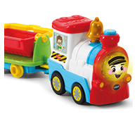 Includes cute motorised train and wagon.