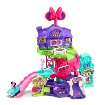 Toot-Toot Drivers Minnie's Around Town Playset