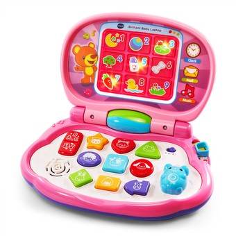Brilliant Baby Laptop Pink image
