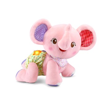 Crawl with Me Elephant Pink