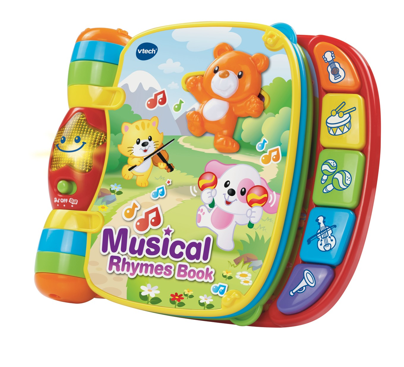 VTech Baby Musical Rhymes Book - VTech Toys Australia