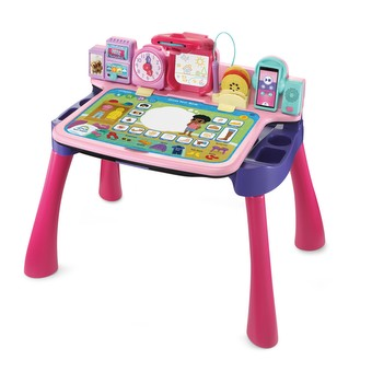 Learn & Draw Activity Desk Pink