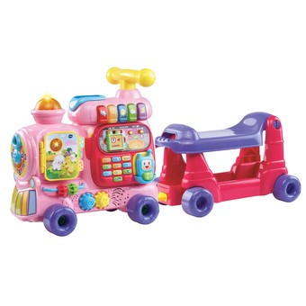 VTech Push & Ride Alphabet Train Pink