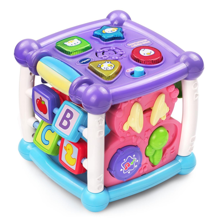 VTech Toys Australia Turn & Learn Cube Pink