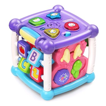 VTech Turn & Learn Cube Pink