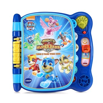 Paw Patrol Mighty Pups Touch & Teach Word Book