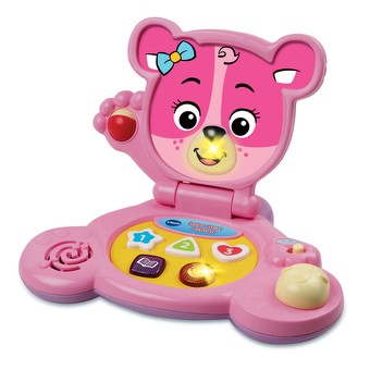 Baby Bear Laptop Pink