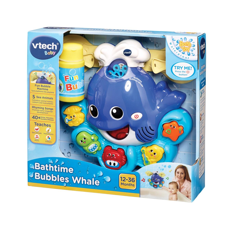 VTech Baby Bathtime Bubbles Whale - VTech Toys Australia
