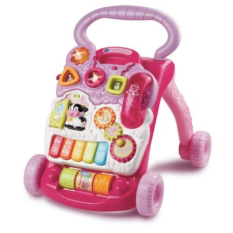 VTech Baby First Steps Baby Walker Pink