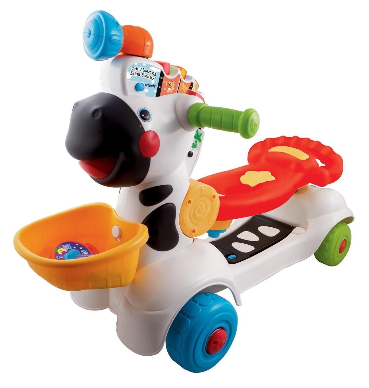 VTech Baby 3-in-1 Zebra Scooter - VTech Toys Australia