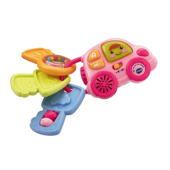 My 1st Car Key Rattle Pink