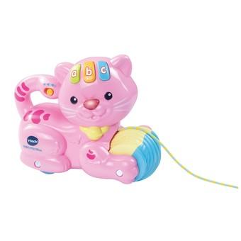 Pull & Play Kitten Pink
