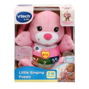 VTech Baby Little Singing Puppy Pink