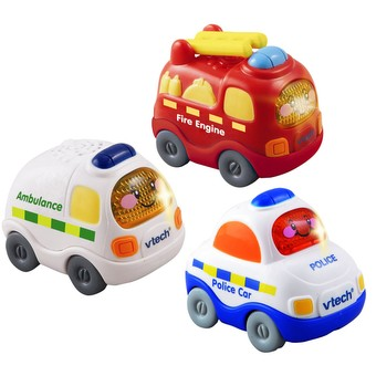 Toot-Toot Drivers 3 Pack Emergency Vehicles