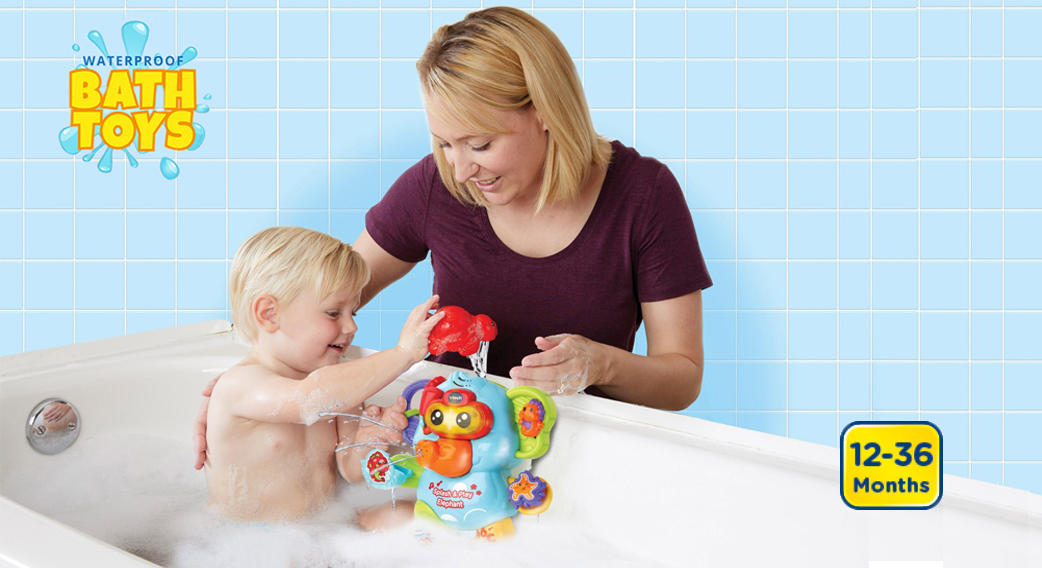 Waterproof Bath Toys. Captain Bear's Bathtime. 9-36 Months.
