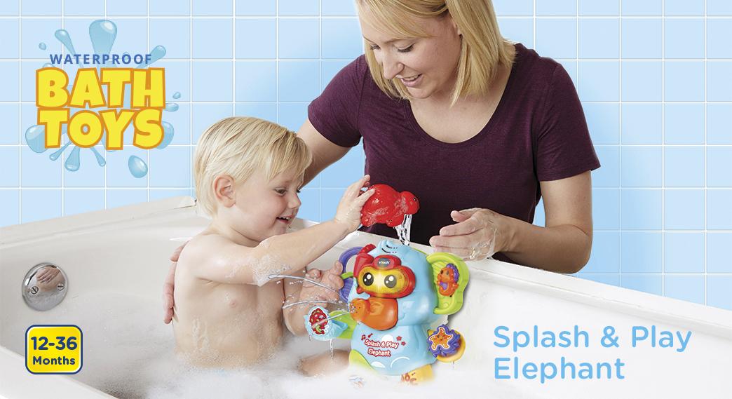 Waterproof Bath Toys. Captain Bear's Bathtime. 9-36 Months.