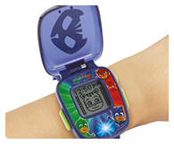 The VTech® PJ Masks Super Catboy Learning Watch is a great wearable gadget for children!