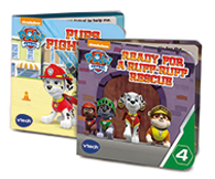 Marshall will read one of 4 Paw Patrol story books: My Paw Patrol friends & I, My Fire Truck, Marshall - A day in the life & Ready for a Ruff Ruff Rescue.