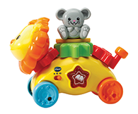 Lion includes 1 Mouse animal gear and 1 fixed handle gear: 2 gears in total.