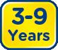 3-9 Years