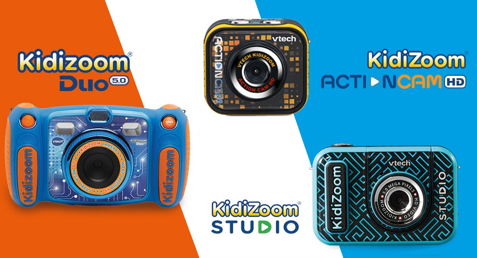 Kidizoom Duo 5.0. Kidizoom Smart Watch DX2. Kidizoom Action Cam 180<sup>°</sup>