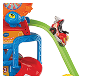 Play set also includes a Toot-Toot Drivers go kart