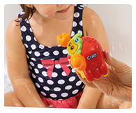 Encourages motor skills, role-play fun, language development and imaginative play.