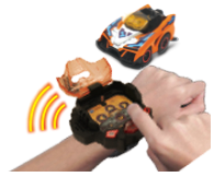 Race Track comes complete with a Turbo Force® Racer & Turbo Station wristband letting you race straight out of the box!