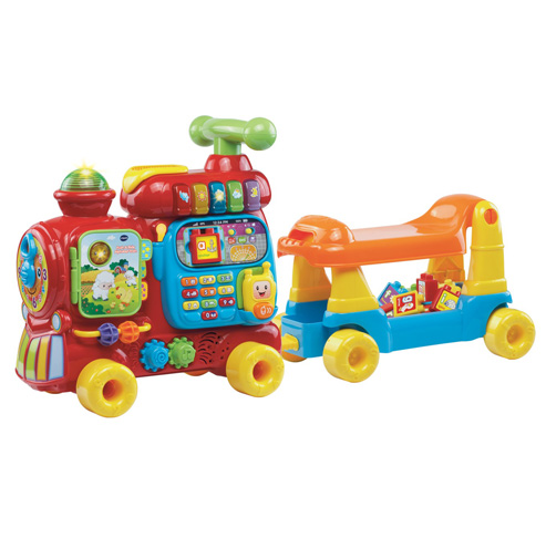 Push & Ride Alphabet Train