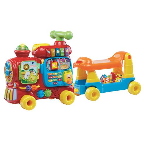 Push & Ride Alphabet Train