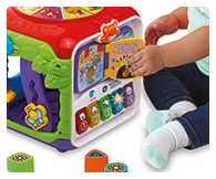 Slide, press, roll and flip lots of fun features; turning book plays familiar nursery rhymes, piano keys introduce colours, numbers and music.