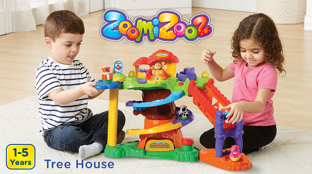Zoomizooz Tree House. 1-5 Years.